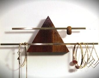 Jewelry Hanger - Reclaimed Wood