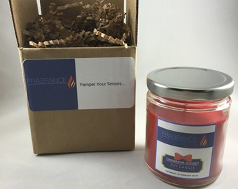 Cinnamon Sunset Soy Candle - Jar