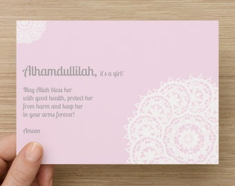 Tag Birth 02 incl. envelope