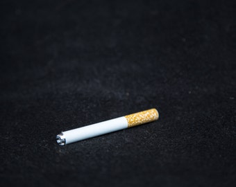cigarette one hitter pipes with cutting teeth