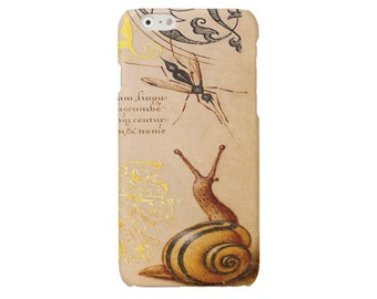 Snail iPhone 6 case iPhone SE cover  iPhone 6 Plus case vintage iPhone 5 5s case iPhone 4 4s case  Samsung Galaxy S4 S5 S6 cover