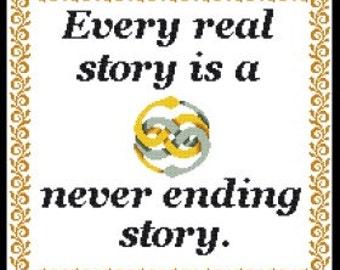 Never ending Story Cross stitch pattern