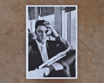 Elvis Going Home Postcard 1956 Wertheimer Collection **Free Shipping**