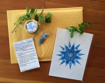 Sing From The Mountain Tops ~ Visuddha/Throat Chakra Bundle ~ Holistic Health