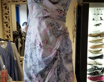 Pastel floral dress my mint velvet size 12