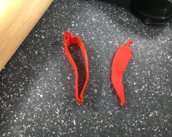 Red Hot Chili Pepper Jalapeno Cookie Cutter