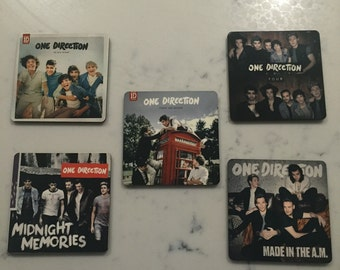 Album Covers - 5 Pack | One Direction Coasters