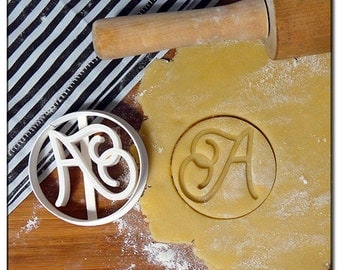 Cookie Cutter 3D Calligraphy Letters
