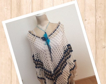 Corchet pattern: To the beach poncho