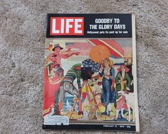 Vintage LIFE Magazine February 27, 1970