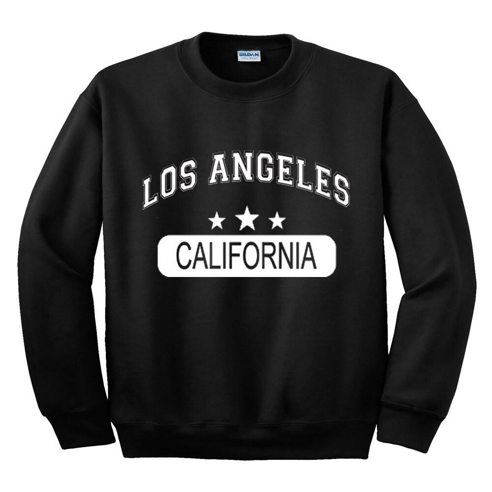 Los angeles california sweatshirt gift teen womans mans for Los angeles california shirt