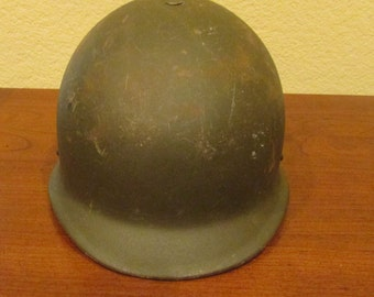 West Germany military steel Helmet M62/85 (pot) with liner 55-57