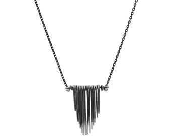Fan necklace (small)