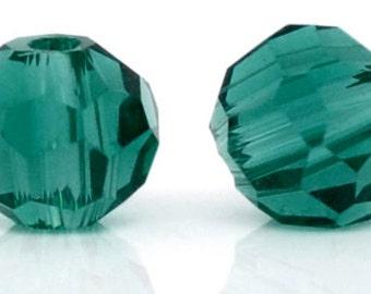 Teal Crystal Beads