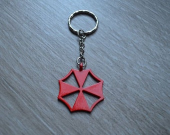Umbrella Corporation - Resident Evil - Keyring Keychain