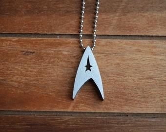 Star Trek Logo Necklace Pendant - Communicator  - Trekkie