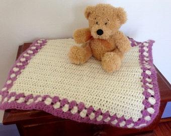Handmade doll's blanket