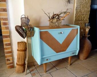 Furniture bar vintage renovated & revamped