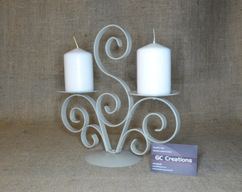 2 Pillar candelabra