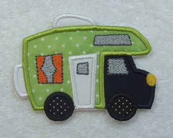Camper Iron on Applique Patch