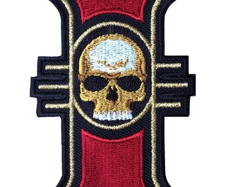 Símbolo/Symbol Warhammer Inquisition 40,000 Parche/Patch Iron On