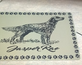 Breed Specific Pet Place Mats