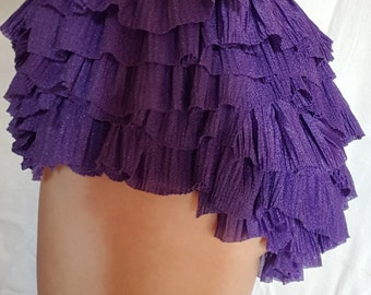 Ruffle shorts in different colors