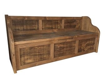 rustic style window with storage can be made