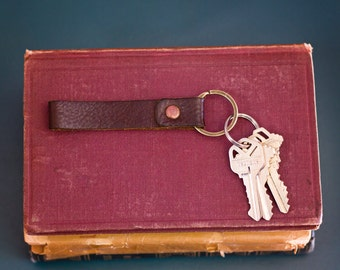 Chromexcel Leather Key Fob