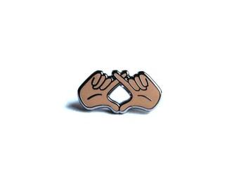 "The Weeknd ""XO"" Hands Pin"