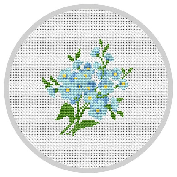 counted cross stitch pattern instant download pdf modern