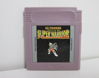 GBC Ultraman Legend of the Super Warrior fan made English translation Gameboy Color Game Boy