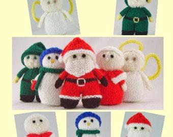 Mini Elf Knitting Pattern : Birthday Christmas Sewing & Fiber Knitting Etsy Studio