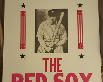 "Babe Ruth ""There was no curse"" 22x14 poster"