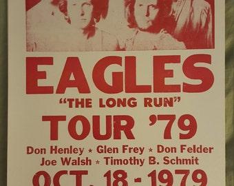 Eagles 79 tour poster