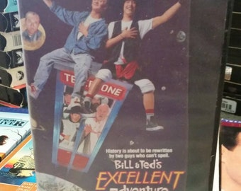 Bill and Ted's Excellent Adventure VHS- 80's Nostaligia