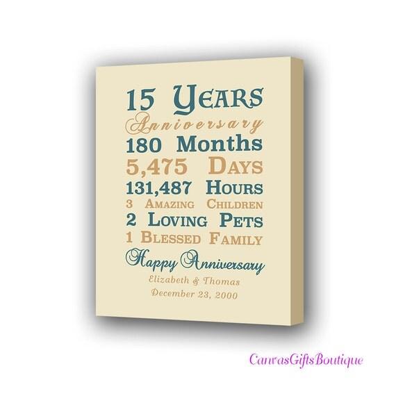 15 Year Wedding Anniversary Gifts: 15th Year Anniversary Gift Crystal Wedding Anniversary