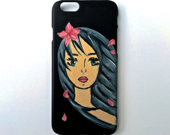 Hand Painted Apple iPhone 6/6s Case