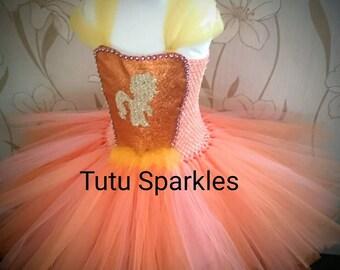 Applejack / My Little Pony inspired Tutu Dress