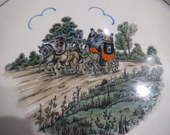 Gray's Pottery Stoke-on-Trent - Hand Painted Porcelain Plate