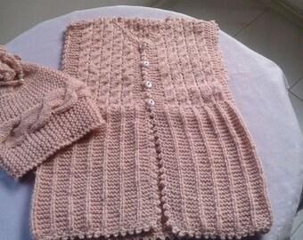Hand Made Little Baby Girl Vest,HadNew