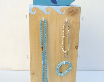 "Door-jewellery, keyrings ""Blue whale"""