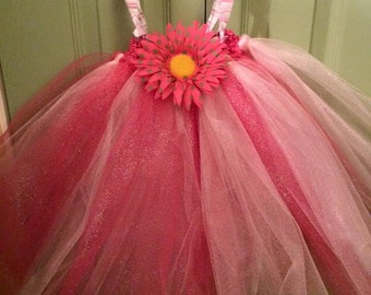 Watermelon Tutu Dress (0-6months)