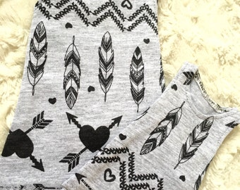 Feather tank top for minifee