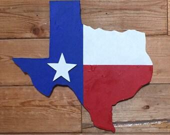 Texas Flag Wall Art