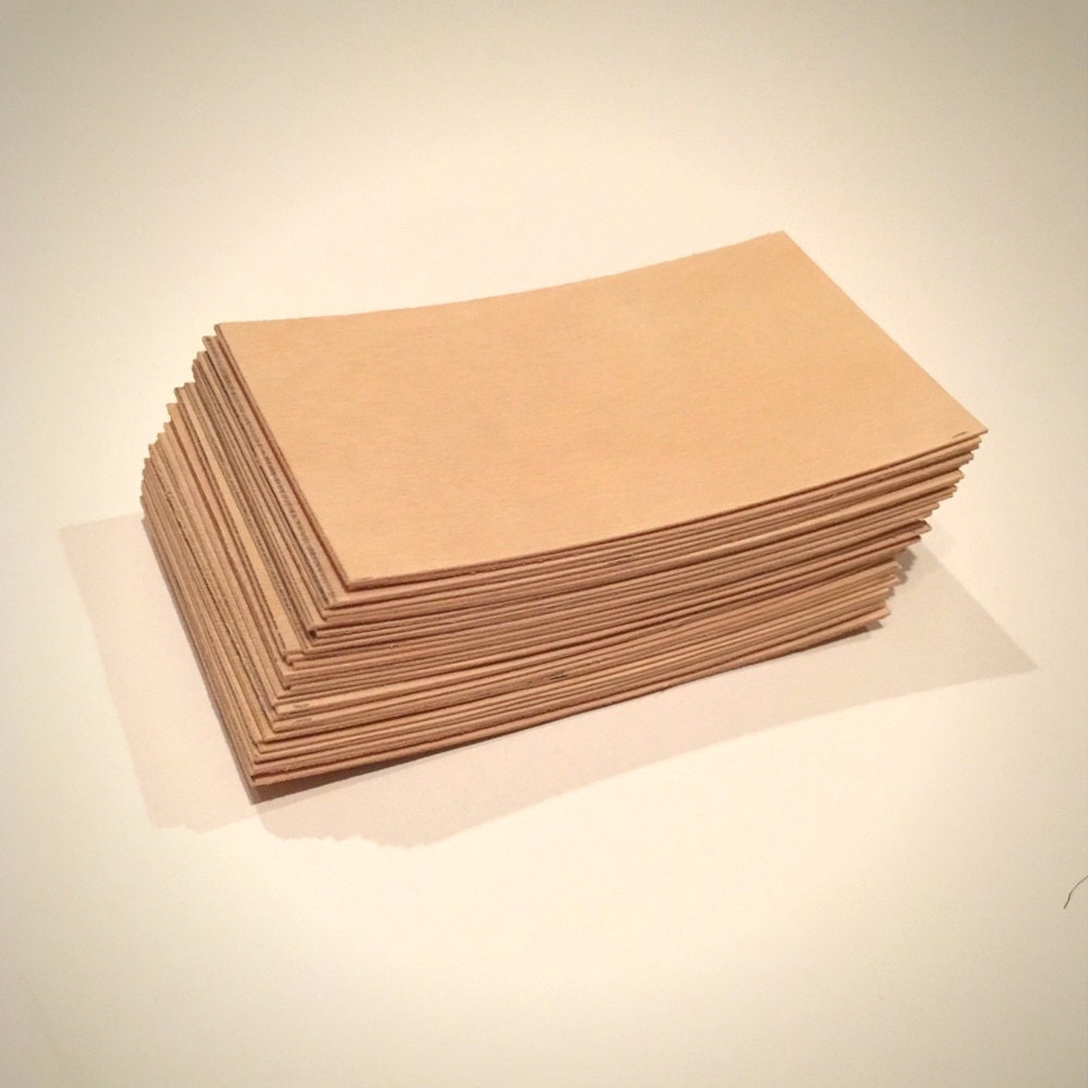 Wood Business Cards - Set of 50 - Blank Wood Cards - Wood Tags ...