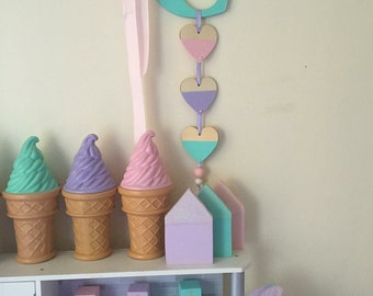 Custom Initial Wall Hangings / Children's Decor / Nursery Decor / Girls Decor / Baby Decor