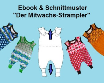 Wax With rompers: Ebook + pattern