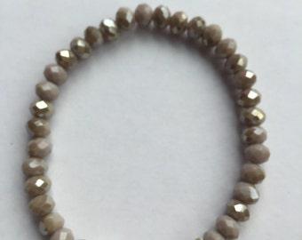 Bracelet Ella Metal Grey Opaque