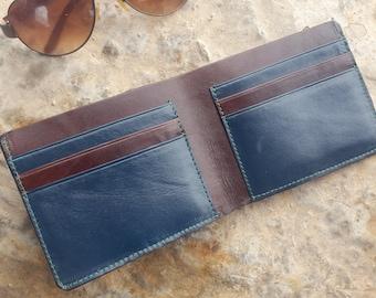 leather bifold wallet New Handmade Wallet, Mens bifold wallet, Leather bifold wallet, Leather wallet, Mens wallet, Leather